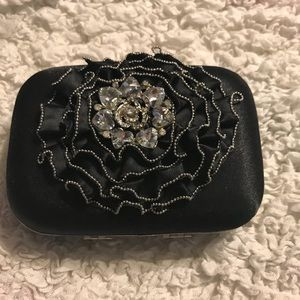Adorable black clutch